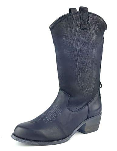 Wrangler Carson Hi Black Boots